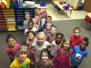 Mrs. Deardorff's Kindergarten class